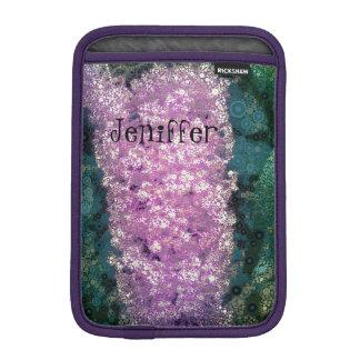 Stylized Lavender Butterfly Bush iPad Mini Case iPad Mini Sleeves