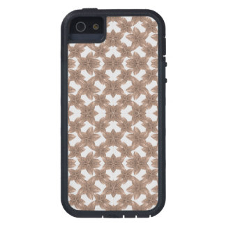 Stylized Leaves Floral Collage iPhone 5 Case