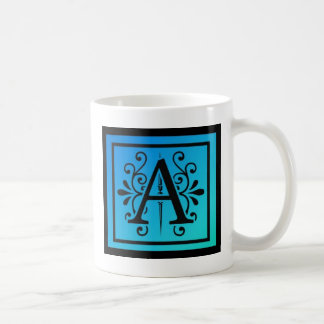 Stylized Letter A Coffee Mug