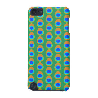 Stylized Peacock Feather Pattern. iPod Touch 5G Case