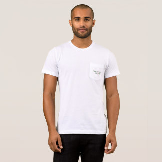 Stylized Punching Ghosts Pocket-T T-Shirt