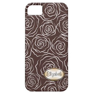 Stylized Rose Garden Pattern | iPhone 5 Case