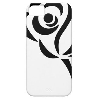 Stylized Rose iPhone 5 Cases