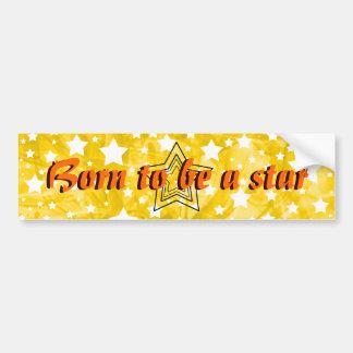 Stylized Star Bumper Sticker