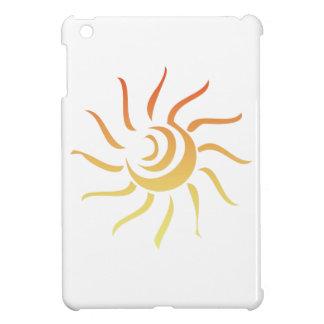 Stylized Sun Case For The iPad Mini
