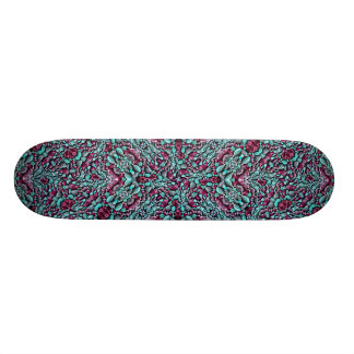 Stylized Texture Luxury Ornate Skateboard Decks
