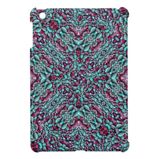 Stylized Texture Pattern Mosaic Case For The iPad Mini