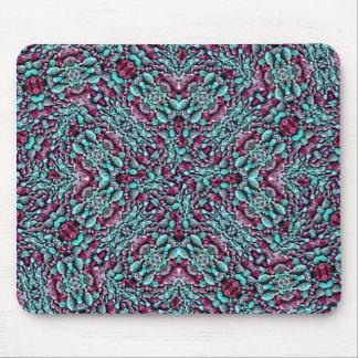 Stylized Texture Pattern Mosaic Mouse Pad