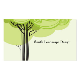 Stylized Tree Pack Of Standard Business Cards