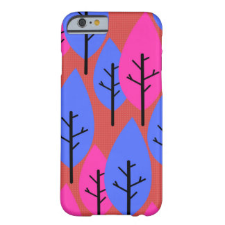 Stylized trees barely there iPhone 6 case