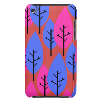 Stylized trees iPod touch case