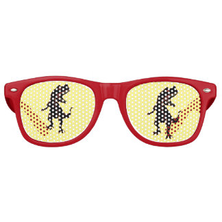 Stylized Tyrannosaurus Retro Sunglasses