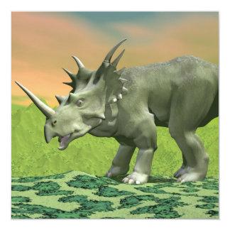 Styracosaurus dinosaur - 3D render Card