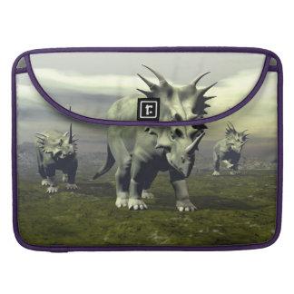 Styracosaurus dinosaurs - 3D render Sleeve For MacBooks