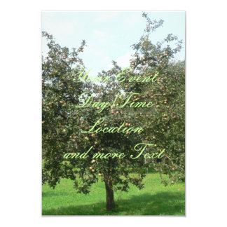 Styrian Apple Trees,Austria 9 Cm X 13 Cm Invitation Card