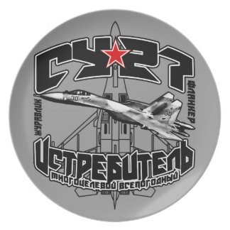 Su-27(Су-27) Melamine Plate Melamine Plate