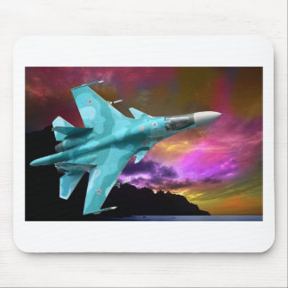 SU-30 RUSSIAN FIGHTER JET MOUSE MAT