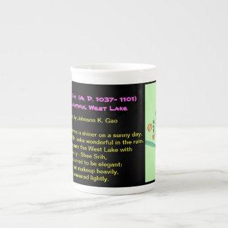 Su Shi poem on the West Lake Tea Cup