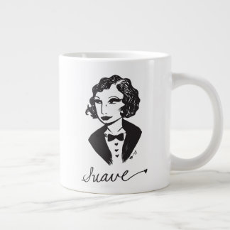 Suave Girl Design by Nachanita Large Coffee Mug