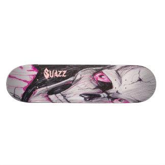 Suazz Skull W/Eyes Pro Skate Board Deck