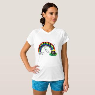 Sub30 Women's Cut White Tech T-Shirt
