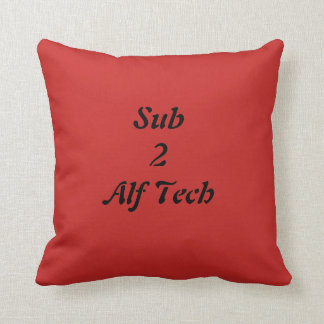 Sub 2 Alf Tech Cushion