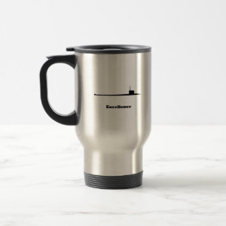 Sub Excellence Stainless Steel Travel Mug