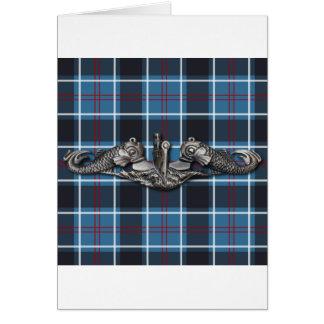 Sub Warfare tartan Card