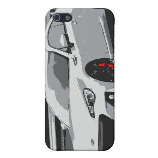 Subaru BRZ in White iPhone 5/5S Case