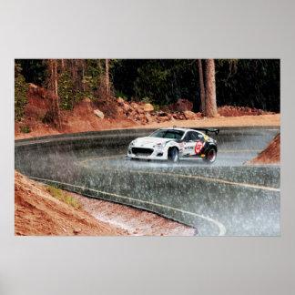 Subaru BRZ Race Car at Pikes Peak Photo Print