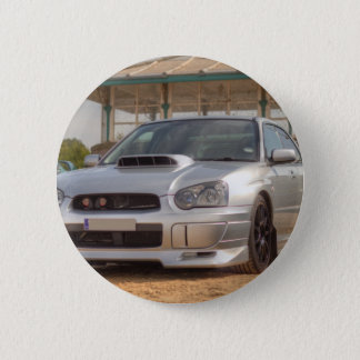 Subaru Impreza STi - Body Kit (Silver) 6 Cm Round Badge