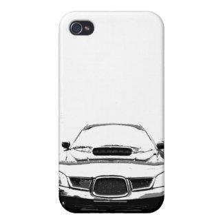 subaru iphone 4g case