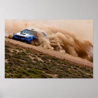 Subaru of China, Rally Ganshu Poster