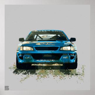 Subaru. Poster