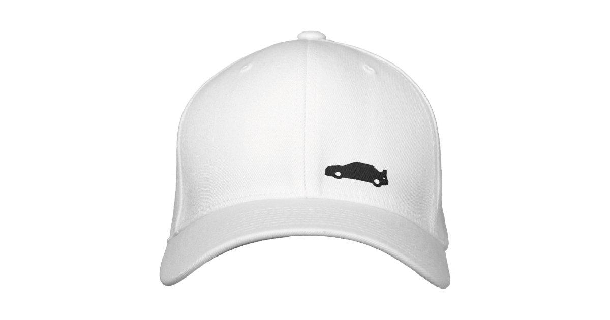 ca0ac35dab4a7 Subaru Wrx car silhouette white hat black logo