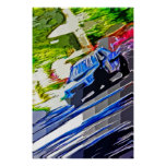 Subaru WRX paint Print