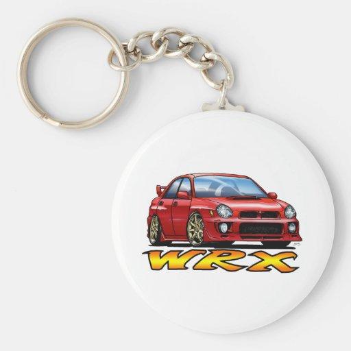 Subaru WRX_red Key Chains