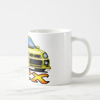 Subaru WRX_yellow Coffee Mug