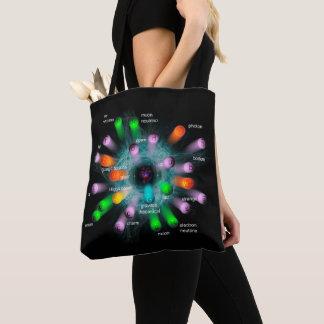 Subatomic  Particles Tote Bag