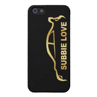 Subbie Sti Love Love Silhouette Logo iPhone 5 Case