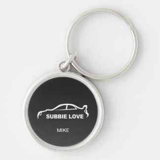 Subbie STI with Faux Carbon Fiber Key Chains