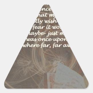 Subconscious Story Triangle Sticker