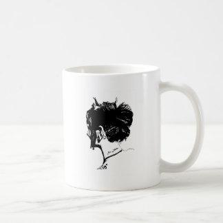 Subculture Girl Basic White Mug