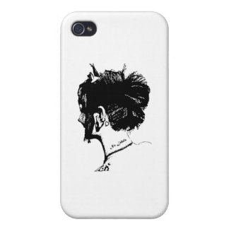 Subculture Girl Cover For iPhone 4