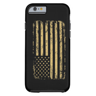Subdued American Flag Tough iPhone 6 Case