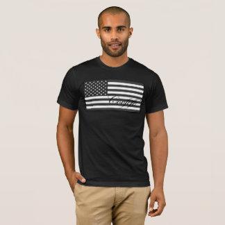 Subdued Covfefe US Flag T-Shirt