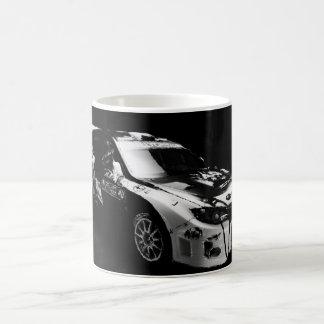 Subie Black and White Coffee Mug