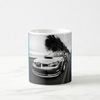 Subie Black and White Coffee Mugs