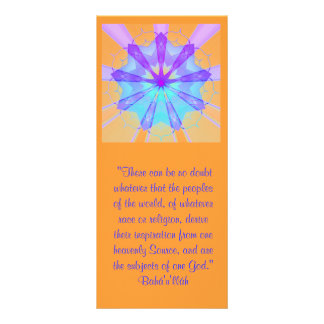 Subjects of One God Ruhi Quote Rack Cards
