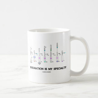 Sublimation Is My Specialty (Chemistry Attitude) Mugs